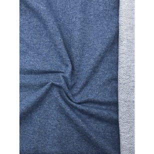 Sweat Terry Jeans meliert blau kaufen