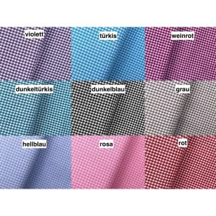 VichyKaro Baumwollstoff Dekostoff 2,5mm 9 Farben kaufen