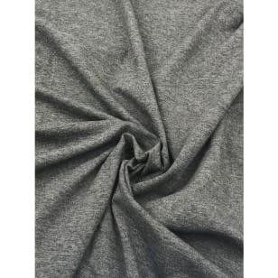 Viskose Jersey dunkelgrau meliert kaufen
