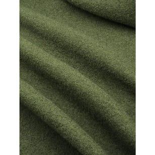Walkloden Schurwolle olive Breite 140 cm ab 50 cm kaufen