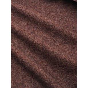 Walkloden Schurwolle braun Breite 140 cm ab 50 cm kaufen
