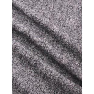 Walkloden Schurwolle grau Breite 140 cm ab 50 cm kaufen
