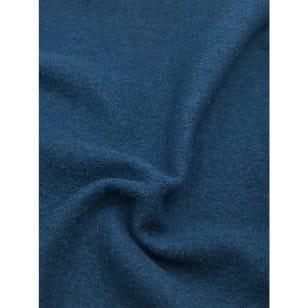 Walkstoff Boiled Wool Gekochter Wolle dunkeltürkis Breite 140 cm kaufen