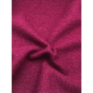 Walkstoff Boiled Wool Gekochter Wolle weinrot Breite 140 cm kaufen
