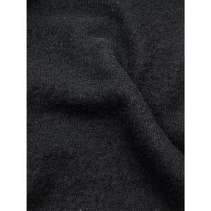 Walkstoff Boiled Wool Gekochter Wolle schwarz Breite 140 cm kaufen