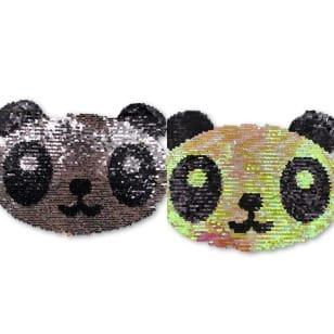 Wendepailletten XL-Patch Aufnäher Applikation Panda Bär kaufen
