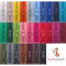 10m endlos Reißverschluss 5 mm + 20 Schieber - 27 Farben, Meterware